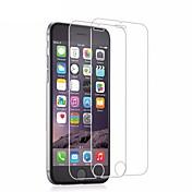 Protector de pantalla Apple para iPhone 6s iPhone 6 Vidrio Templado 2 pcs Protector de Pantalla Protector de Pantalla Frontal