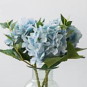 Kunstige blomster 1 Gren Moderne Stil / Europeisk Stil Hortensiaer Bordblomst