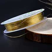 1 pcs Nail Smykker metallic / Mote Daglig
