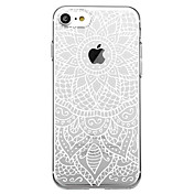 Etui Til Apple iPhone 7 Plus iPhone 7 Mønster Bakdeksel Mandala Myk TPU til iPhone X iPhone 8 Plus iPhone 8 iPhone 7 Plus iPhone 7 iPhone