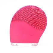 Mini Blanqueo Limpieza de Profundidad Extracción de Cutículas Impermeable Cepillo Limpiador Facial Alta Velocidad Mini Estilo Silicona