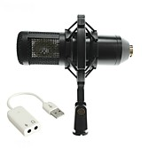 Characteristic BM800 Con CableMicrophoneJuegos Micrófono de Ordenador Micrófono Condensador