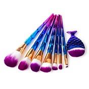 8pcs Pinceles de maquillaje Profesional Sistemas de cepillo Pincel de Poni / Pelo Sintético / Pincel de Fibra Artificial Ecológica /