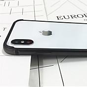케이스 제품 Apple iPhone X iPhone X 충격방지 범퍼 한 색상 하드 메탈 용 iPhone X