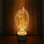 3 차원 분위기의 밤 빛의 손 세트 dimmable usb 전원 선물 램프 글로브