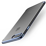 Etui Til Apple iPhone X iPhone 8 Plus Belegg Bakdeksel Helfarge Myk TPU til iPhone X iPhone 8 Plus iPhone 8 iPhone 7 Plus iPhone 7 iPhone