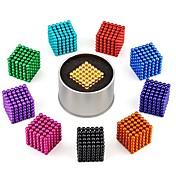 216 pcs 3mm Magnetiske leker Magnetiske kuler / Byggeklosser / Puzzle Cube كلاسيكي Stress og angst relief / Focus Toy / Office Desk Leker Gave