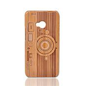 Etui Til HTC Støtsikker Bakdeksel Geometrisk mønster Hard Bambus til HTC One M7