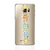 Etui Til Samsung Galaxy S8 Plus S8 Mønster Bakdeksel Tegneserie Myk TPU til S8 Plus S8 S7 edge S7 S6 edge plus S6 edge S6