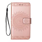Funda Para Samsung Galaxy Nota 8 Note 5 Flip Diseños Funda de Cuerpo Entero Flor Dura Cuero de PU para Note 8 Note 5