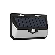 1pc 10W LED Solcellebelysning Fjernstyrt Infrarød sensor Vanntett Lysstyring Utendørsbelysning Kjølig hvit <5V