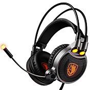 SADES R1 Cinta Con Cable Auriculares Dinámica El plastico De Videojuegos Auricular Auriculares