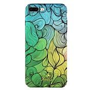 Funda Para Apple iPhone 7 iPhone 6 Diseños Cubierta Trasera Líneas / Olas Dura Policarbonato para iPhone 8 Plus iPhone 8 iPhone 7 Plus