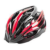 MOON Adultos Casco de bicicleta 27 Ventoleras CE Resistente a Golpes, Peso ligero, Ajustable EPS, ordenador personal Deportes Ciclismo de Pista / Escalada / Ciclismo / Bicicleta - Bule / negro