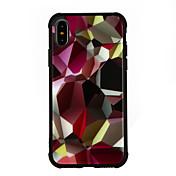 Funda Para Apple iPhone X iPhone 8 Antigolpes Diseños Funda Trasera Caricatura Dura Vidrio Templado para iPhone X iPhone 8 Plus iPhone 8