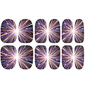 1pcs Pegatina de uñas Plantilla de estampado de uñas Nail Art Design Calcomanías de uñas