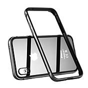 Etui Til Apple iPhone X Støtsikker Støtsikker Helfarge Hard Metall til iPhone X