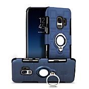 Etui Til Samsung Galaxy S9 S9 Plus Støtsikker Ringholder Bakdeksel Geometrisk mønster Hard PC til S9 Plus S9 S8 Plus S8