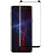 Skjermbeskytter Samsung Galaxy til S9 Plus Herdet Glass 1 stk Heldekkende beskyttelse 3D  bøyd kant Motstår Risser 9H hardhet
