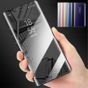 Etui Til Samsung Galaxy S9 S9 Plus med stativ Speil Heldekkende etui Ensfarget Hard PC til S9 Plus S9 S8 Plus S8 S7 edge S7 S6 edge plus