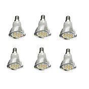 6pcs 5W 380-420lm E14 LED-spotpærer 16 LED perler SMD 5630 Dekorativ Varm hvit 85-265V