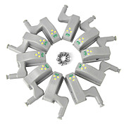YWXLIGHT® 10pcs Luz de noche LED Blanco Cálido Blanco Fresco Mueble de cocina Armario Alacena Decoración Creativo Batería