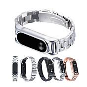 Klokkerem til Mi Band 2 Xiaomi Sportsrem Metall Håndleddsrem