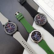 Klokkerem til Gear S3 Frontier Samsung Galaxy Sportsrem Silikon Håndleddsrem