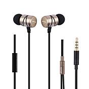 AWEI Q5i I øret Kabel Hodetelefoner dynamisk Metall Sport og trening øretelefon Mini / comfy / Med mikrofon Headset