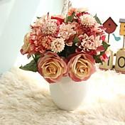 Kunstige blomster 8.0 Gren Rustikk / Bryllup Roser / Evige blomster Bordblomst