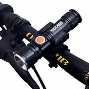 Linternas LED / Luz LED / Luces para bicicleta LED doble Ciclismo Portátil / Ajustable / Soltado Rápido 18650.0 1000lm Lumens Recargable