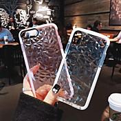 Etui Til Apple iPhone X / iPhone 8 Plus Støtsikker Heldekkende etui Ensfarget Myk TPU til iPhone X / iPhone 8 Plus / iPhone 8