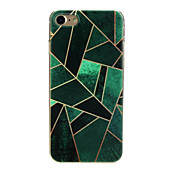 Funda Para Apple iPhone X / iPhone 7 Ultrafina / Diseños / Encantador Funda Trasera Diseño Geométrico Suave TPU para iPhone X / iPhone 8 Plus / iPhone 8