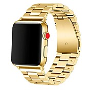 Klokkerem til Apple Watch Series 3 / 2 / 1 Apple Sportsrem Rustfritt stål Håndleddsrem