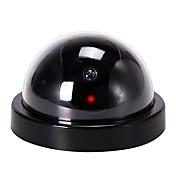 veskys® security monitor de vigilancia falso camera de simulación de seguridad cctv webcam flash para home shop business garage