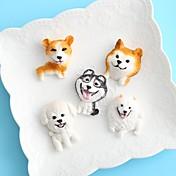 Bakeware verktøy Silikon Ferie / 3D-tegneseriefigur / Kreativ Kake / Sjokolade / For kjøkkenutstyr Rund Cake Moulds 1pc
