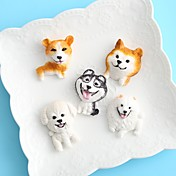 Herramientas para hornear Silicona Vacaciones / Dibujo 3D / Creativo Pastel / Chocolate / Para utensilios de cocina Redondo Moldes para pasteles 1pc