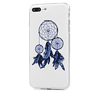 For Case Cover Pattern Back Cover Case Dream Catcher Soft TPU for Apple iPhone X iPhone 8 Plus iPhone 8 iPhone 7 Plus iPhone 7 iPhone 6s