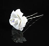 Paper Alloy Hair Pin Headpiece Wedding Party Elegant Feminine Style