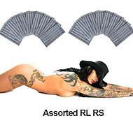 Стерилизованное иглы для татуировки, набор из 250 шт.
