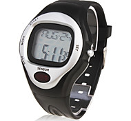 Unisex Calorie Counter Multi-Functional Digital Silicone Band Wrist Watch Cool Watch Unique Watch