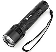 LED Flashlights / Torch Handheld Flashlights/Torch LED 1000 lm 5 Mode Cree XM-L T6 for Camping/Hiking/Caving Batteries not included