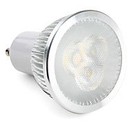3W GU10 LED Spotlight MR16 3 leds High Power LED 300-350lm Natural White Dimmable AC 220-240
