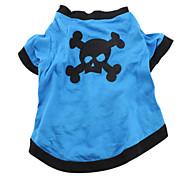 Недорогие -Стильная футболка для собак (синий, разные размеры)