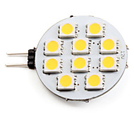 abordables -2700 lm G4 Spot LED 10 diodes électroluminescentes SMD 5050 Blanc Chaud DC 12V