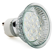 abordables -1.5w gu10 led spotlight mr16 18 haute puissance led 60-80lm blanc chaud 2800k ac 220-240v 1pc