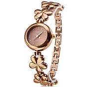 Women's Bracelet Watch Quartz Band Elegant Bronze