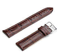 cheap -Unisex Genuine Leather Watch Strap 22MM(Brown) Cool Watch Unique Watch Fashion Watch