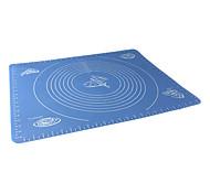 Недорогие -большой размер силикагеля коврик для выпечки с маркой лепешка, инструмент для выпечки