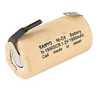 Sanyo Ni-Cd Battery N-1900Scr Sc Battery (1.2V, 1900 Mah) Khaki